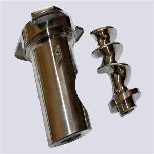 polishing screw parts