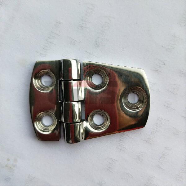 OEM Stainless steel marine hardware square cabin hinge boat accessories marine hinge Thumb 1