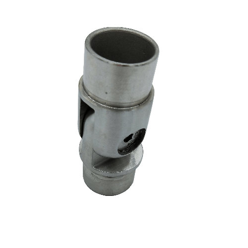 Stainless steel staircase railing pipe joint tube connector quick coupling adjustable joint Thumb 3