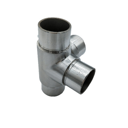 Stainless steel staircase railing pipe joint tube connector quick coupling adjustable joint Thumb 1